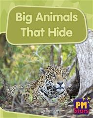 Big Animals That Hide - 9780170194327