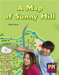 A Map of Sunny Hill - 9780170194419