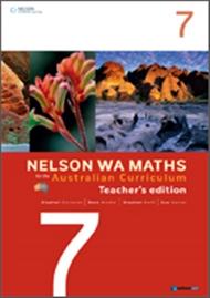 Nelson WA Maths for the Australian Curriculum Year 7 Teacher's Edition - 9780170194471