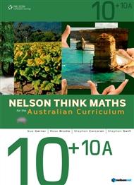 Nelson Think Maths for the Australian Curriculum Advanced 10+10A - 9780170195065