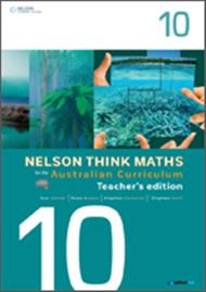Nelson Think Maths for the Australian Curriculum Year 10 Teacher's Edition - 9780170195096