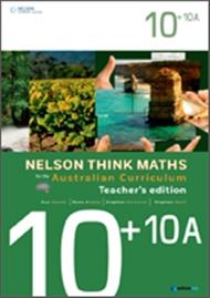 Nelson Think Maths for the Australian Curriculum Advanced 10+10A Teacher's Edition - 9780170195102