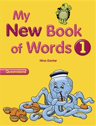 My New Book of Words QLD 1 - 9780170195232
