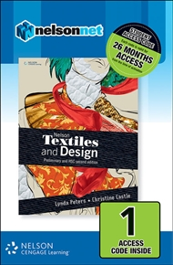 Nelson Textiles and Design Preliminary and HSC 1 Access Code - 9780170197038