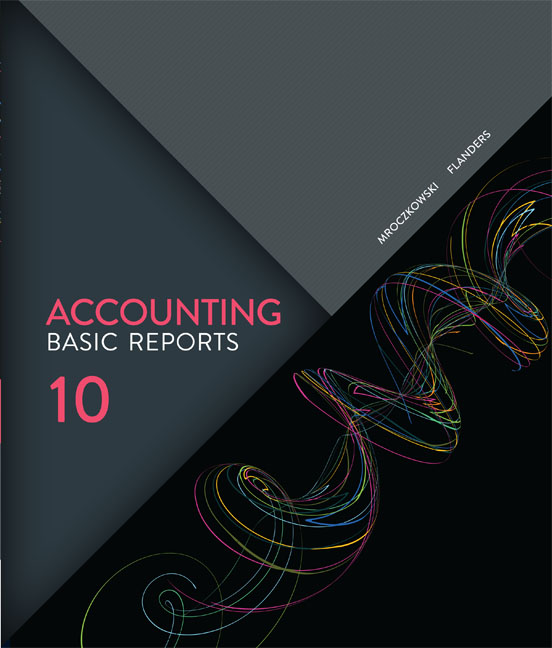 eBook: Accounting: Basic Reports - 9780170359306(eBook)