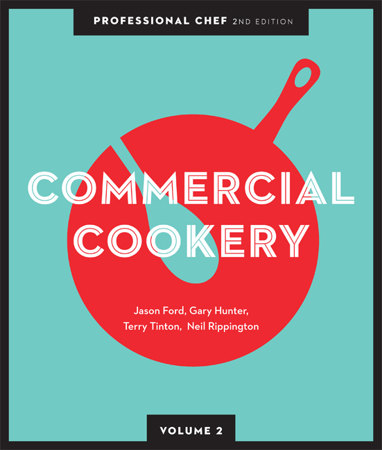 Professional Chef: Commercial Cookery (Volume 2) - 9780170245548(Print)