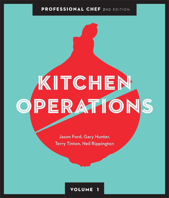Professional Chef: Kitchen Operations (volume 1) - 9780170245555(Print)