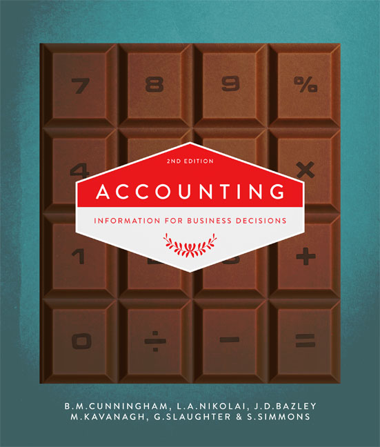 Accounting: Information for Business Decisions - 9780170253703(Print)