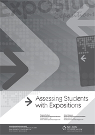 Assessing Students with Expositions - 9780170327060