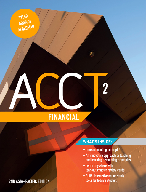 eBook: ACCT2 Financial - 9780170356732(eBook)