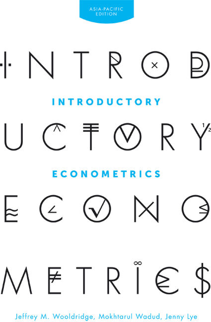 Introductory Econometrics: Asia Pacific Edition - 9780170350839(Print)