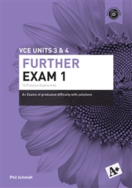 A+ Further Mathematics Exam 1 VCE Units 3 & 4 - 9780170354103