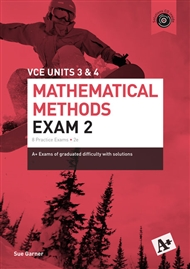 A+ Mathematical Methods Exam 2 VCE Units 3 & 4 - 9780170354141