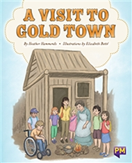 A Visit to Gold Town - 9780170354387