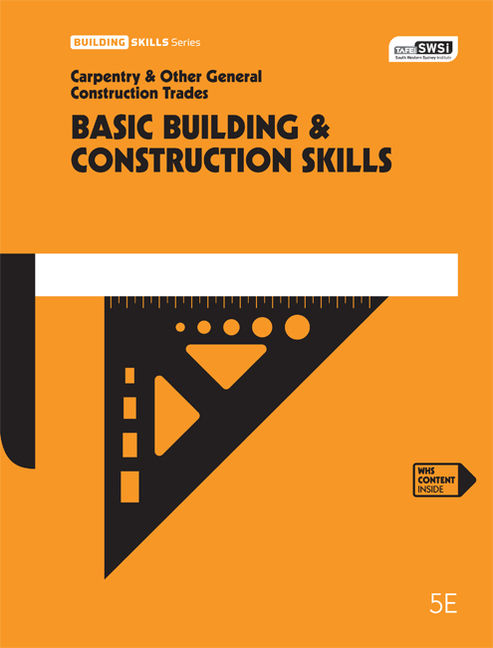 Basic Building and Construction Skills - 9780170357944(Print)