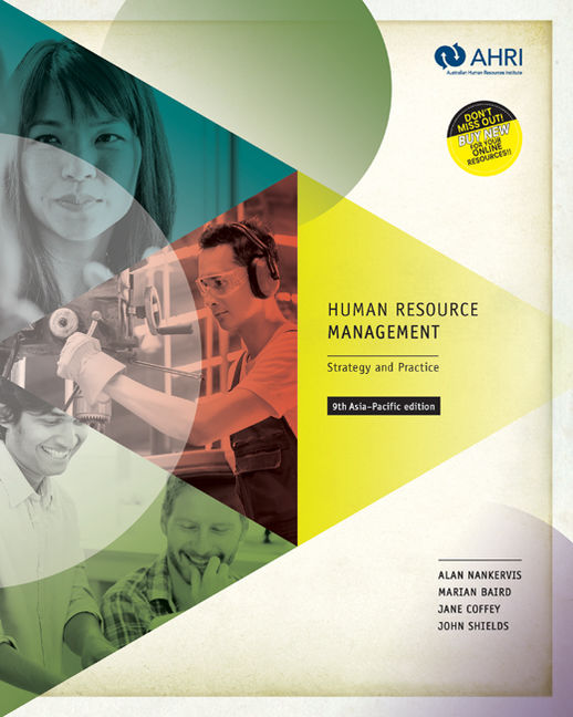 Human Resource Management with Student Resource Access 12 Months: Strategy and Practice - 9780170369862(Print)