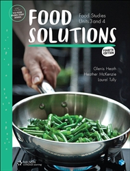 Food Solutions: Food Studies Units 3 & 4 (Student Book with 4 Access Codes) - 9780170378482