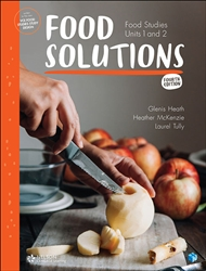 Food Solutions: Food Studies Units 1 & 2 (Student Book with 4 Access Codes) - 9780170378611
