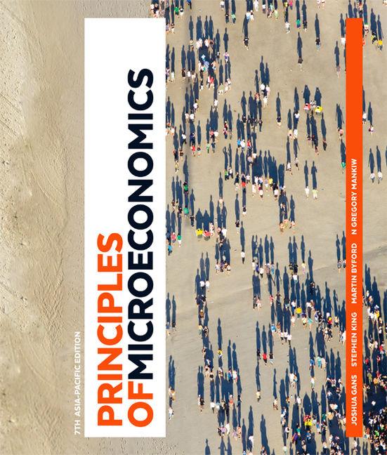 Principles of Microeconomics: Australia and New Zealand Edition - 9780170382601(Print)