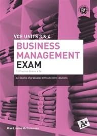 A+ Business Management Exam VCE Units 3 & 4 - 9780170414623