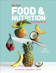 Nelson Food & Nutrition for QCE Student Book with 4 Access Codes - 9780170418560