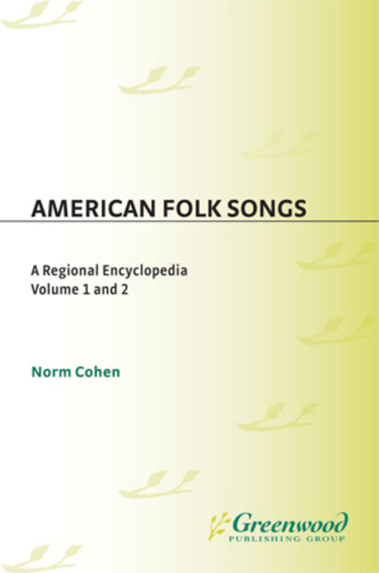 American Folk Songs - 9780313088100