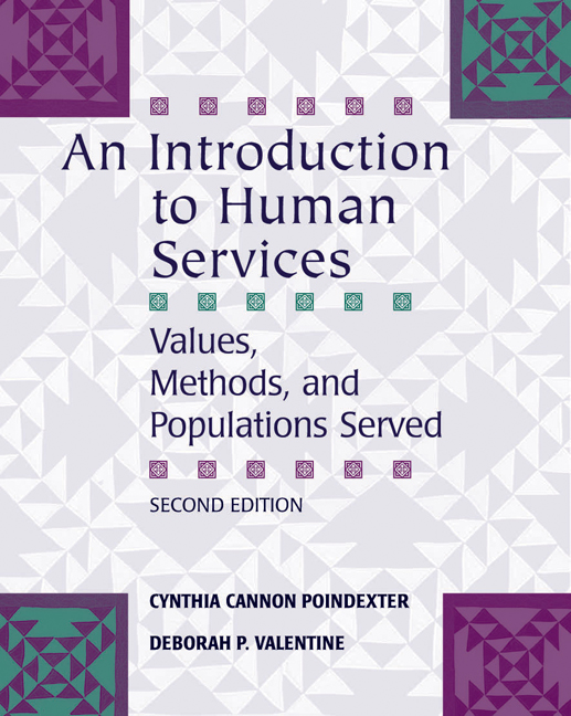An Introduction to Human Services: Values, Methods, and Populations Served - 9780495007920(Print)