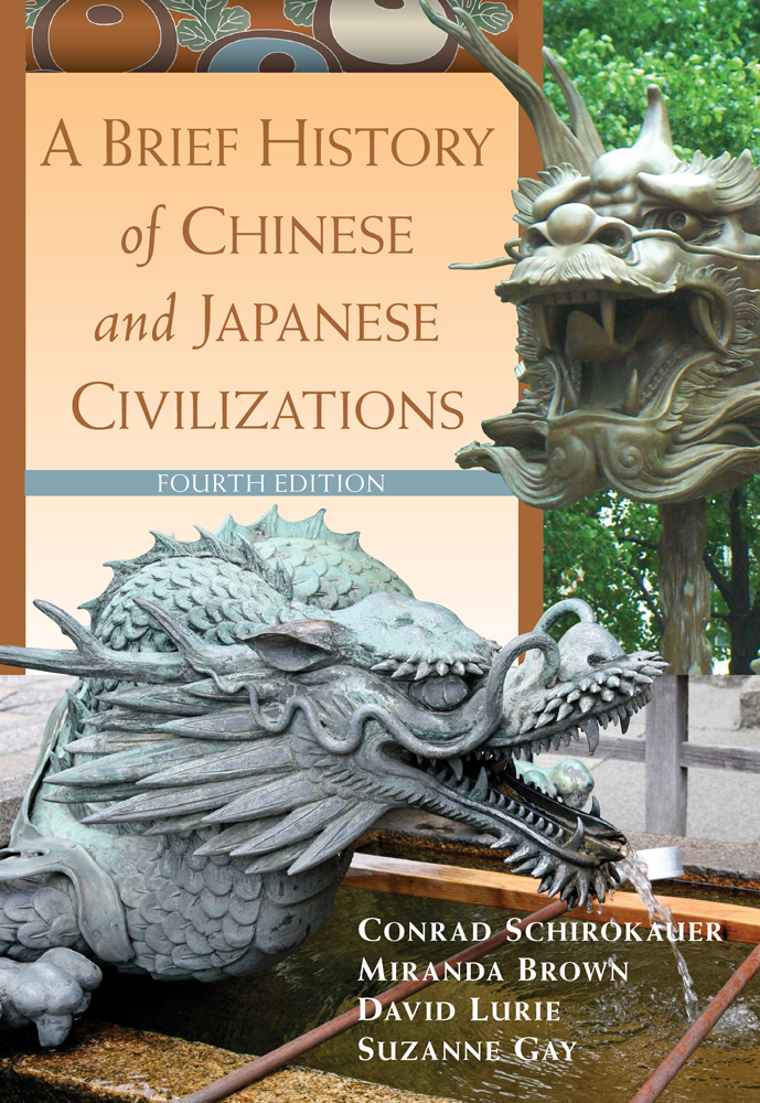 A Brief History of Chinese and Japanese Civilizations - 9780495913221(Print)