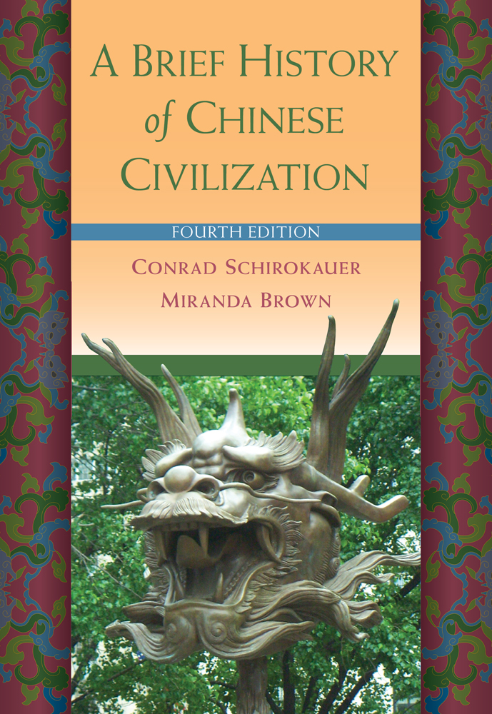 A Brief History of Chinese Civilization - 9780495913238(Print)