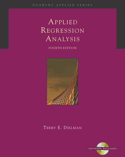 Applied Regression Analysis: A Second Course in Business and Economic Statistics - 9780534465483(Print)