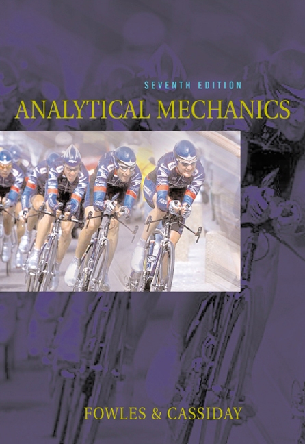 Analytical Mechanics - 9780534494926(Print)