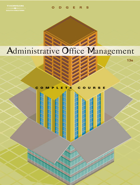 Administrative Office Management, Complete Course - 9780538438575(Print)