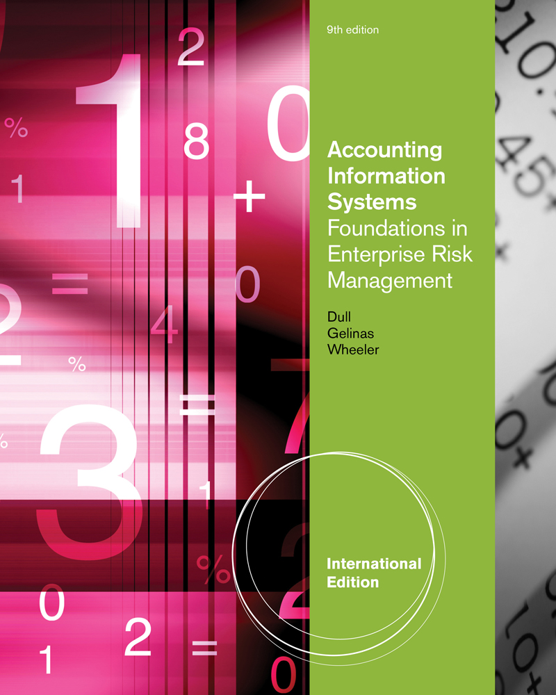Accounting Information Systems: Foundations in Enterprise Risk Management, International Edition - 9780538469326(Print)