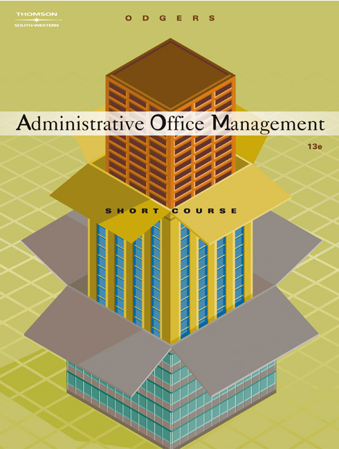 Administrative Office Management, Short Course - 9780538727693(Print)