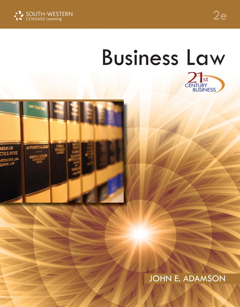 21st Century Business: Business Law - 9780538740616(Print)