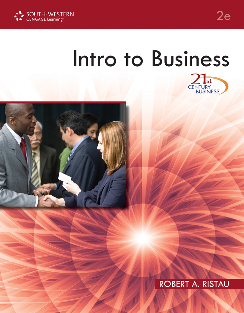 21st Century Business: Intro to Business - 9780538740661(Print)