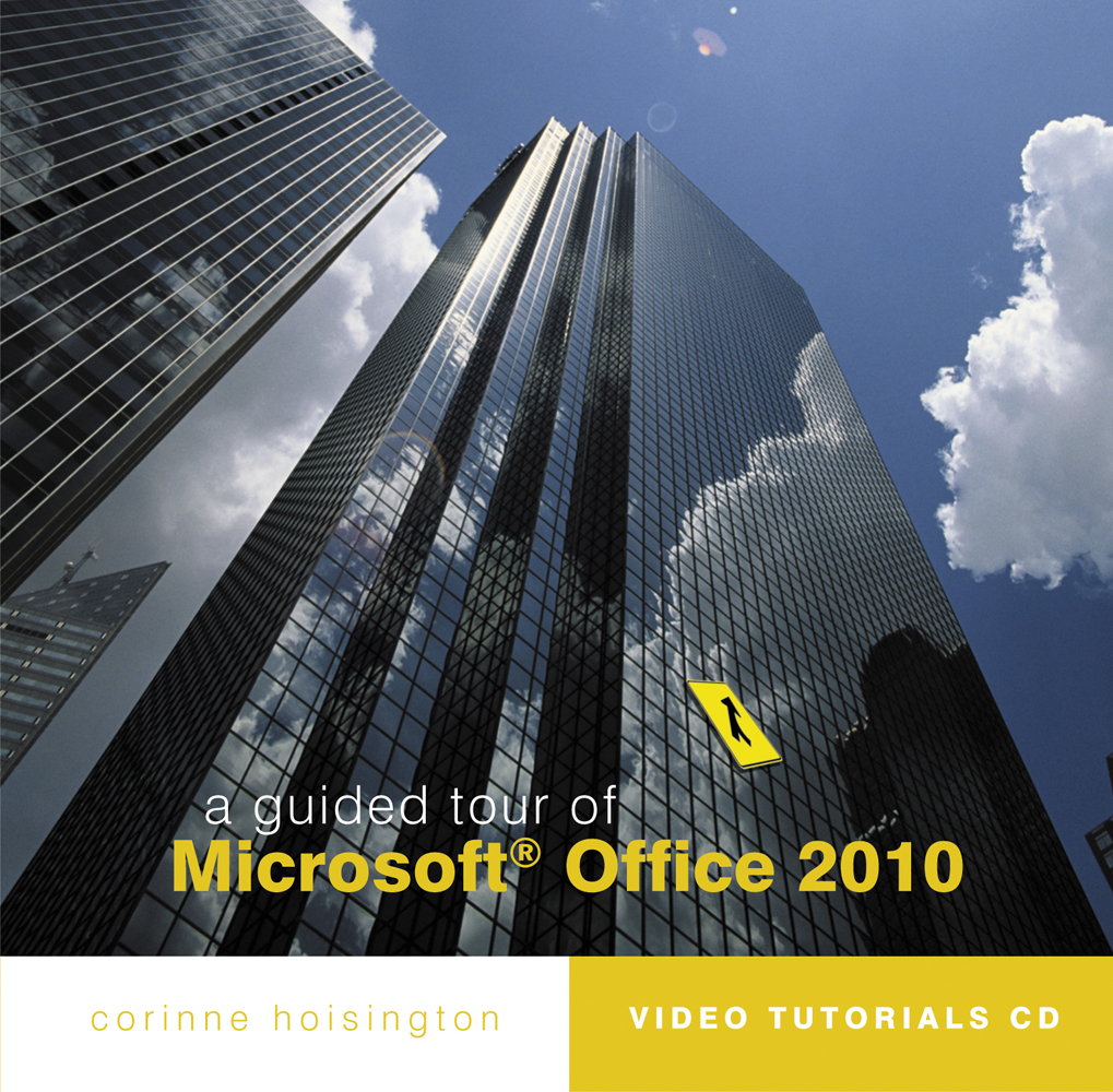 A Guided Tour of Microsoft® Office 2010 - 9780538750462(CD)