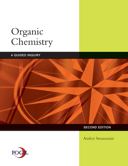 Organic Chemistry: A Guided Inquiry - 9780618974122(Print)