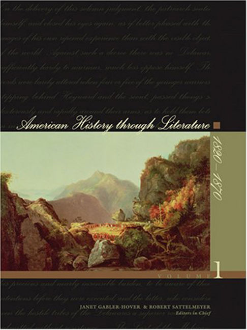 American History Through Literature: 1820-1870 - 9780684314921