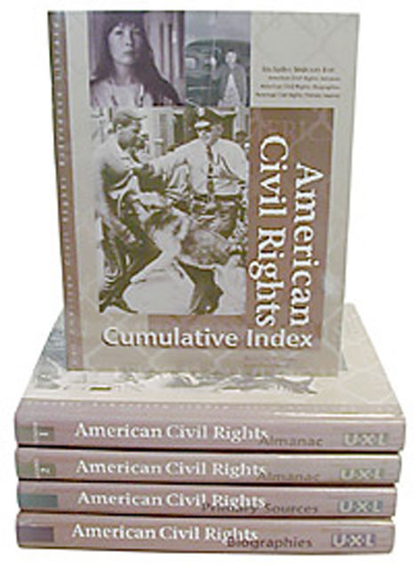 American Civil Rights Reference Library - 9780787631697