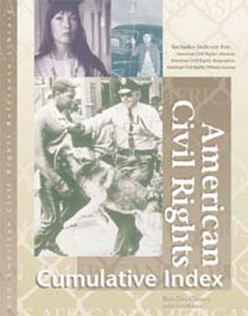 American Civil Rights Reference Library Cumulative Index - 9780787638252