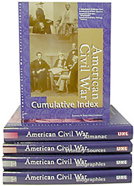 American Civil War Reference Library - 9780787691417