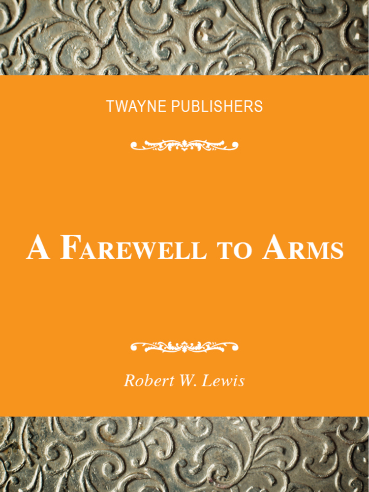 A Farewell to Arms - 9780805780529