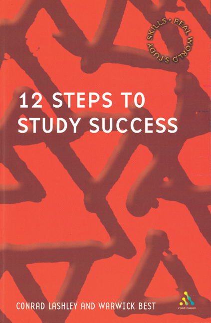 12 Steps to Study Success - 9780826467904(Print)