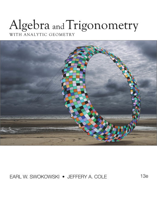 Algebra and Trigonometry with Analytic Geometry - 9780840068521(Print)