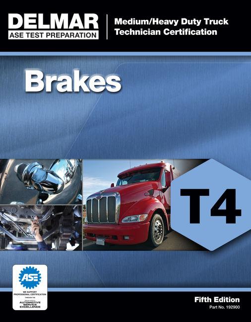 ASE Test Preparation - T4 Brakes - 9781111129002(Print)