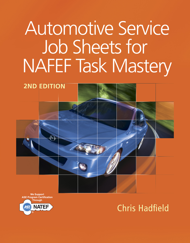 Automotive Service Job Sheets for NATEF Task Mastery - 9781111137984(Print)