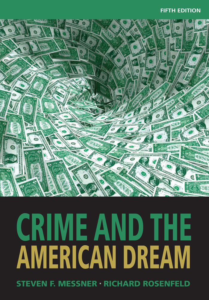 Crime and the American Dream - 9781111346966(Print)