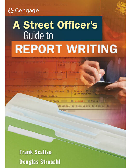 A Street Officer's Guide to Report Writing - 9781111542504(Print)