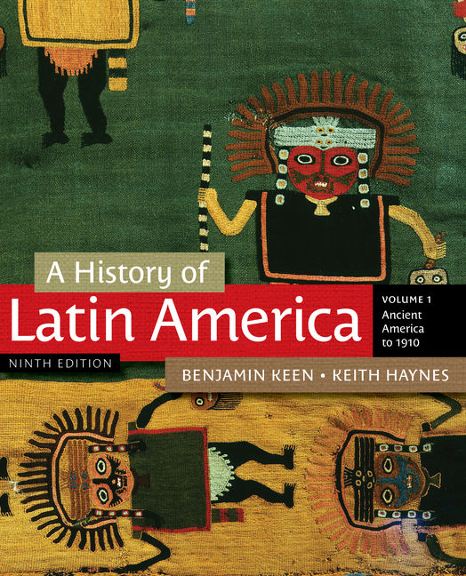 A History of Latin America, Volume 1 - 9781111841409(Print)